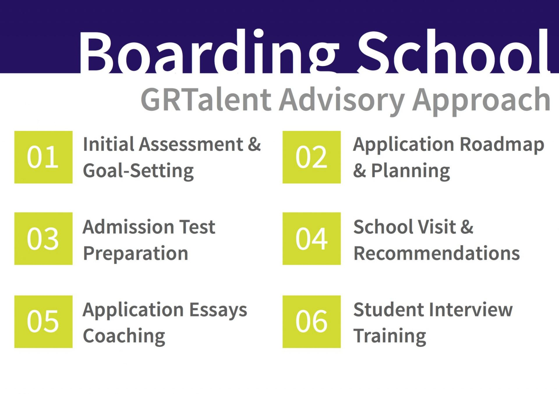 GRTalent Boarding School Admission Advisory